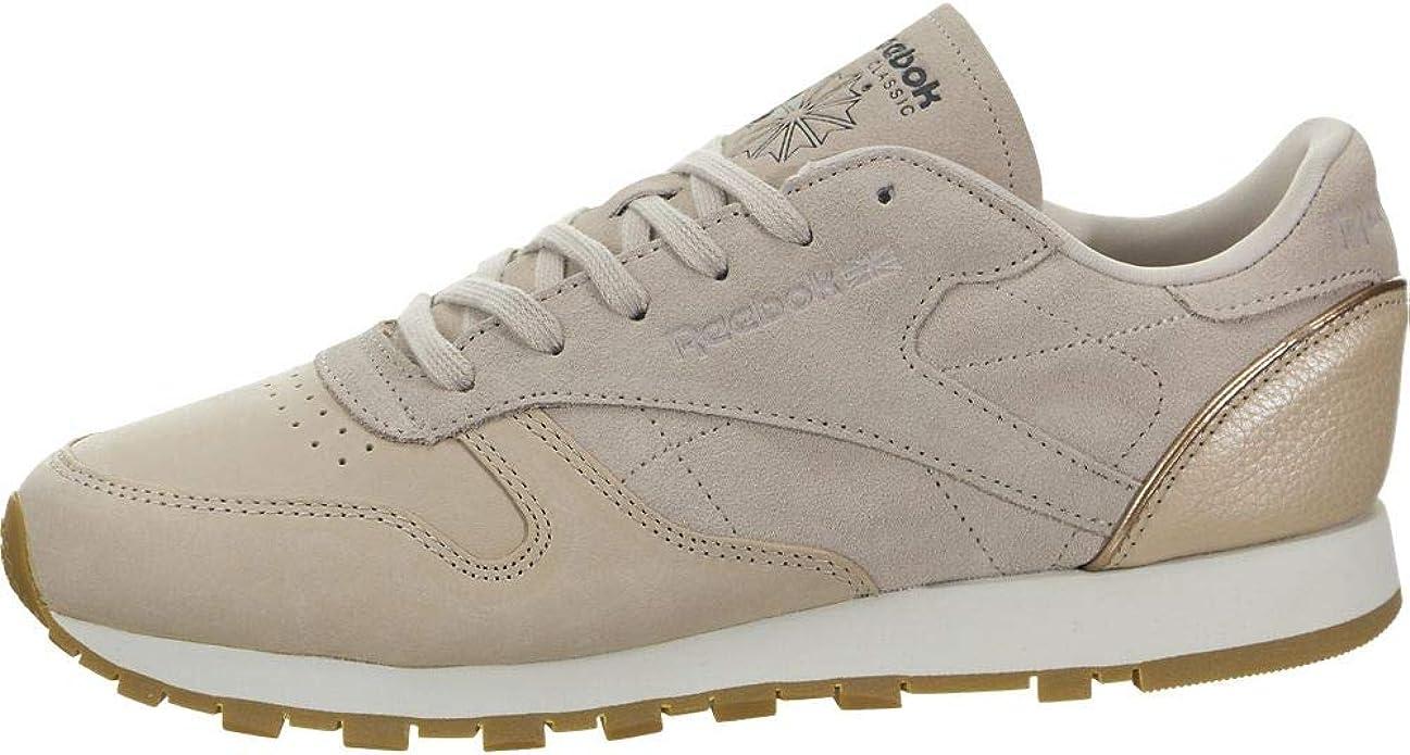 Diverso Nunca Objetado  Amazon.com | Reebok Women's Classic Leather Golden Neutrals Sandtrap/Rose  Gold/Chalk | Shoes