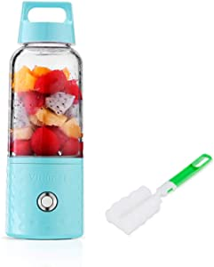 Portable Rechargeable Juice Blender, Anbage Household Fruit Mixer,Huafly Personal Blender 500ml USB Juicer Cup for Home,Outdoors and Travelling