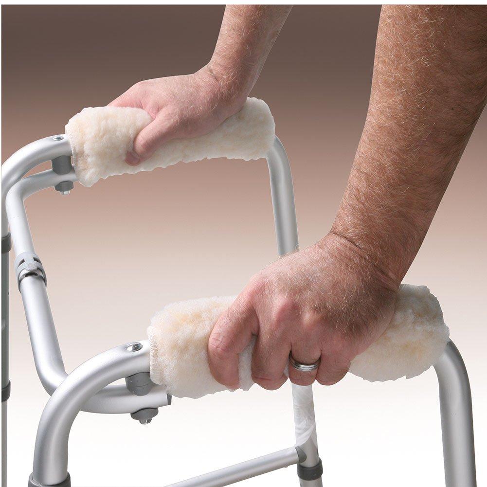 Sherpa Fleece Walker Hand Grips - Set of 2