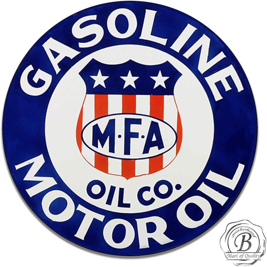 Esso Motor Oil and Gasoline Vintage Design Sign Metal Decor Gas and Oil Sign