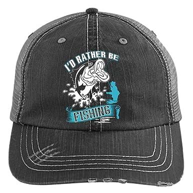 68530e339fc I d Rather Be Fishing Hat