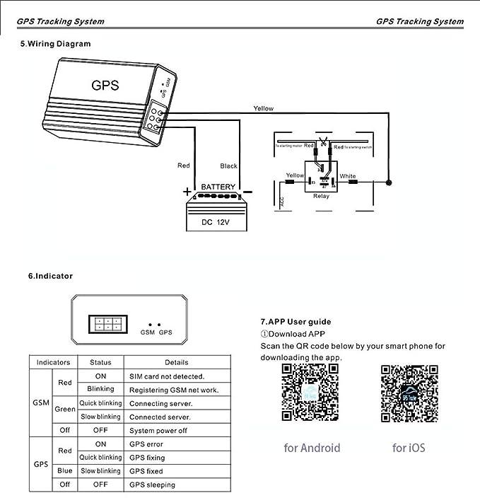Awesome Amazon Com Ntg02 Gps Tracker Motorcycle Water Resistant Tracking Wiring Digital Resources Inamasemecshebarightsorg