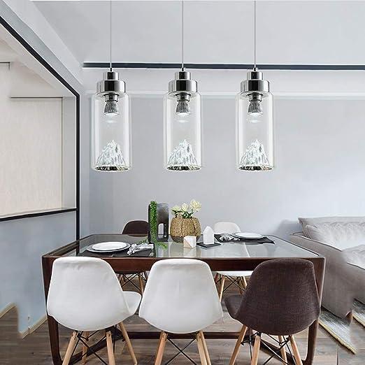 KJRJDD Lámpara de Techo Colgante Casa de Campo Iluminación rústica ...