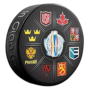2016 World Cup of Hockey Participants Souvenir Puck
