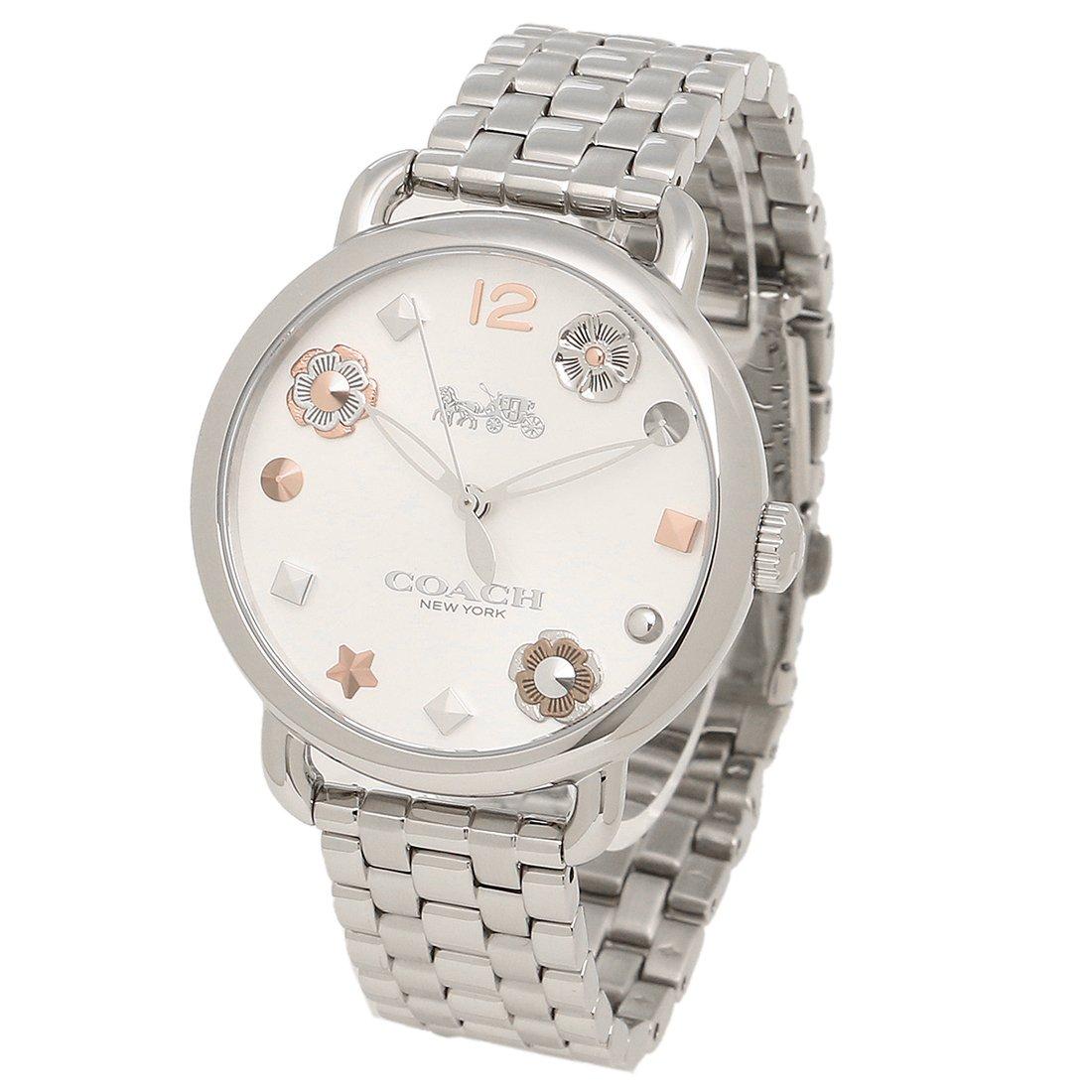 6a094da459 Amazon | [コーチ] 腕時計 レディース COACH 14502810 シルバー [並行輸入品] | 並行輸入品・逆輸入品・中古品(レディース)  | 腕時計 通販