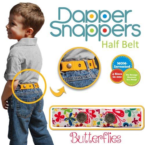 Dapper Snapper Made in USA Baby & Toddler Adjustable Belt-Butterflies