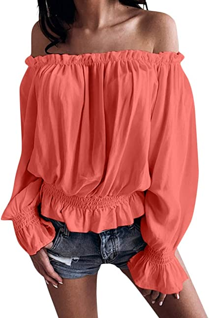 Posional Camisas Mujer Camiseta De Manga Larga Para Mujer Blusa ...