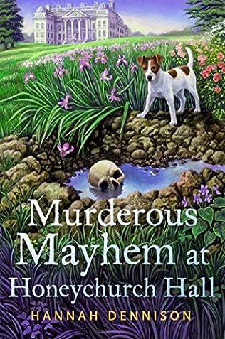book cover of Murderous Mayhem at Honeychurch Hall