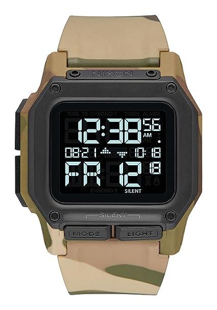 Nixon Reloj Hombre de Digital con Correa en PU A1180-2865-00