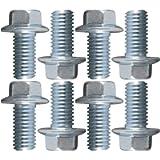 ICT Billet USA Made BOLT KIT ONLY - LS Engine Mount to block Hex Flange Bolts LSX LS1 LM7 LR4 LQ4 LS6 L59 LQ9 LM4 L33…