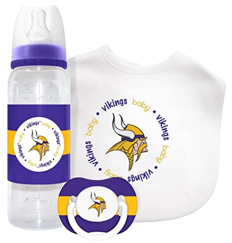 Image Unavailable. Image not available for. Color  Baby Fanatic Gift Set - Minnesota  Vikings 980b95787