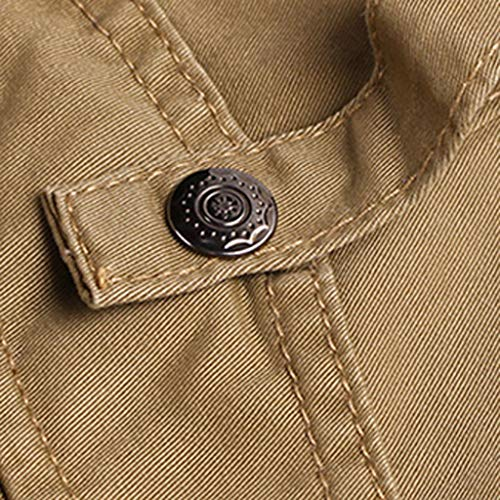 Allywit Mens Loose Fit Cotton Casual Military Army Cargo Camo Combat Work Pants Big and Tall by Allywit-Pants (Image #2)