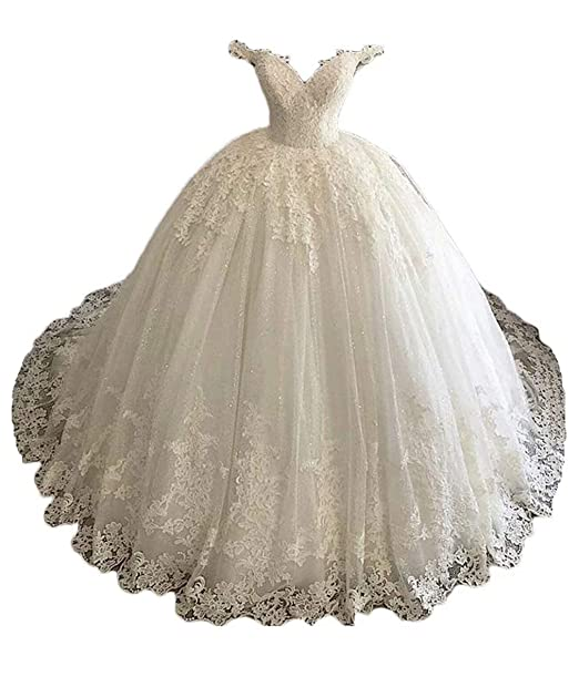 Amazon.com: Ri Yun - Vestido de novia para mujer, vestido de ...