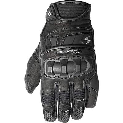 Scorpion Klaw II Men\'s Leather Street Motorcycle Gloves - Black / Large: Automotive [5Bkhe2007814]