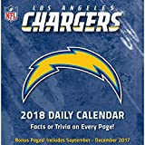 Los Angeles Chargers Desk Calendar