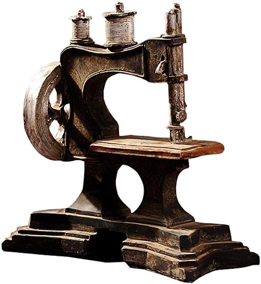 ZFLL Estatua de Buda Adornos de Modelo de máquina de Coser ...