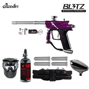 Azodin Blitz 3 Starter HPA Paintball Gun Package