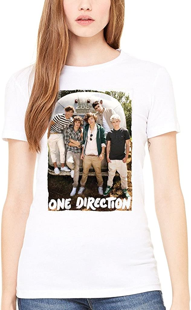 AWDIP Maglietta da Donna Ufficiale One Direction Airstream Niall Horan 1D Teen Music Irish