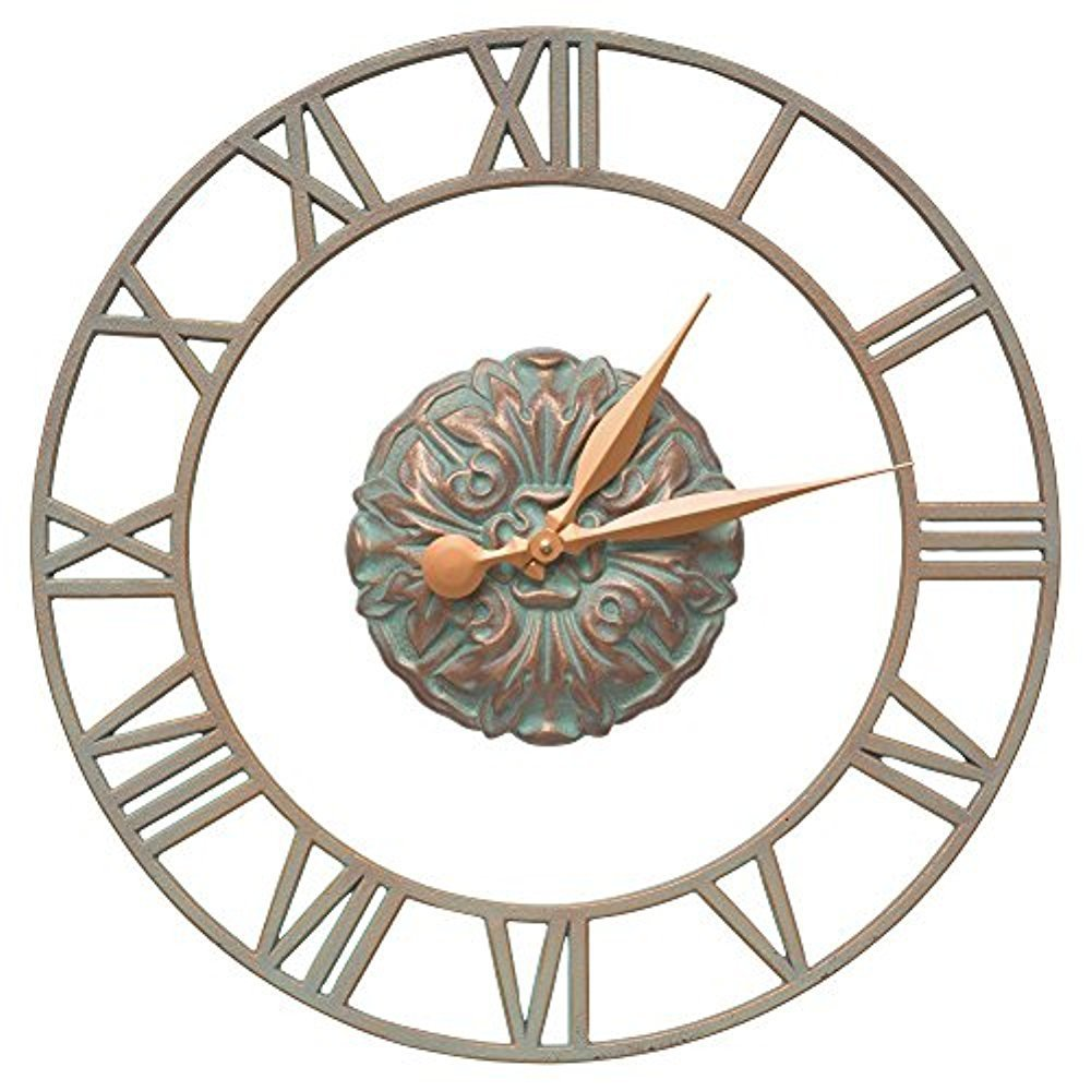 Cambridge Floating Ring 21-in Indoor Outdoor Wall Clock - 01309