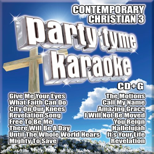 Party Tyme Karaoke - Contemporary Christian 3 (16-song CD+G) by Capitol Christian Distribution