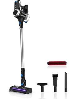 Cecotec Aspirador Vertical Conga ThunderBrush 820 Immortal Battery 29.6 V, Aspirador Vertical, Escoba y de Mano, Tecnología Ciclónica, Filtro HEPA, Autonomía 65 min, Tecnología 360ºy, Rojo: Amazon.es: Hogar