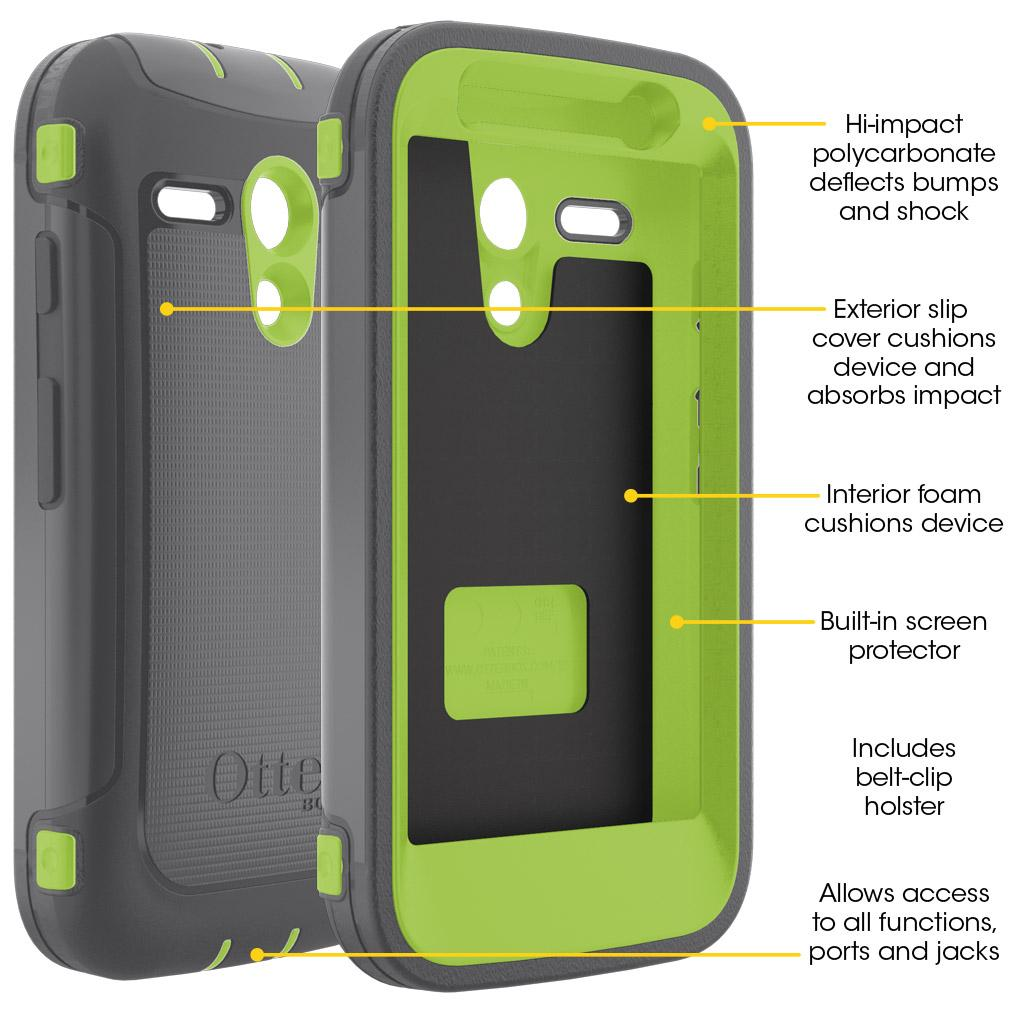 OtterBox DEFENDER SERIES for Moto G (1st Gen ONLY ...