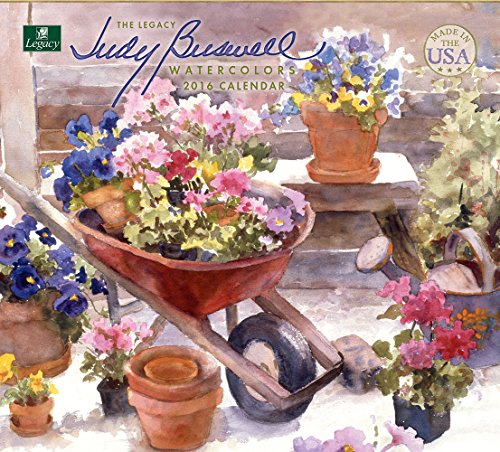 Legacy Publishing Group 2016 Wall Calendar, Judy Buswell Watercolors (WCA19638)