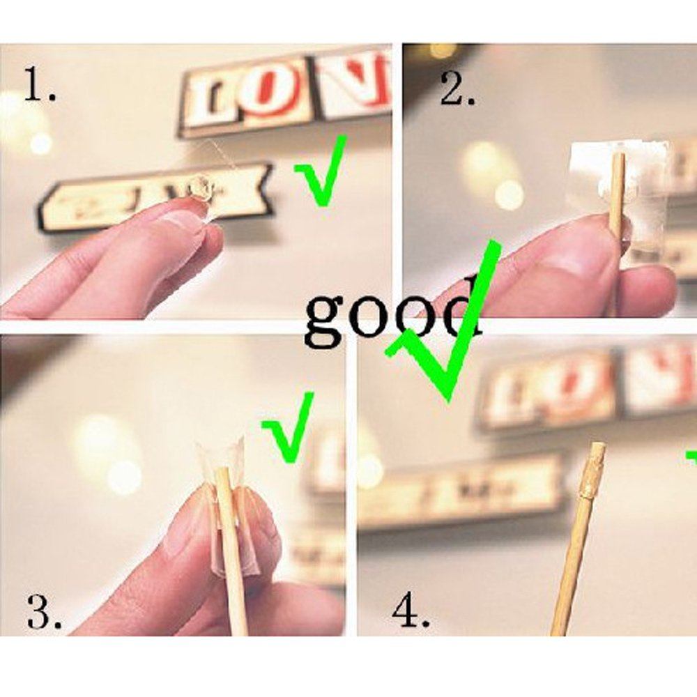 Wedding Photo Booth Props with Strike For Party, Pose Sign 22 Printed Pieces with Wooden Sticks, Accessories Decorations for Birthday Parties, Hipster Bow Tie, Social Media Like Button, Grillz Teeth by COFFLED (Image #8)