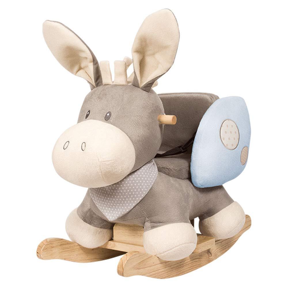 Nattou - Cappuccino Soft Donkey Rocker - Beige by Nattou