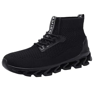 503ff24b04123 Amazon.com: ANJUNIE Couple Woven Breathable Short Boots Walking ...