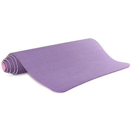 Amazon.com : FANFF Yoga mats Yoga Mat 6mm Thicken Widen High ...