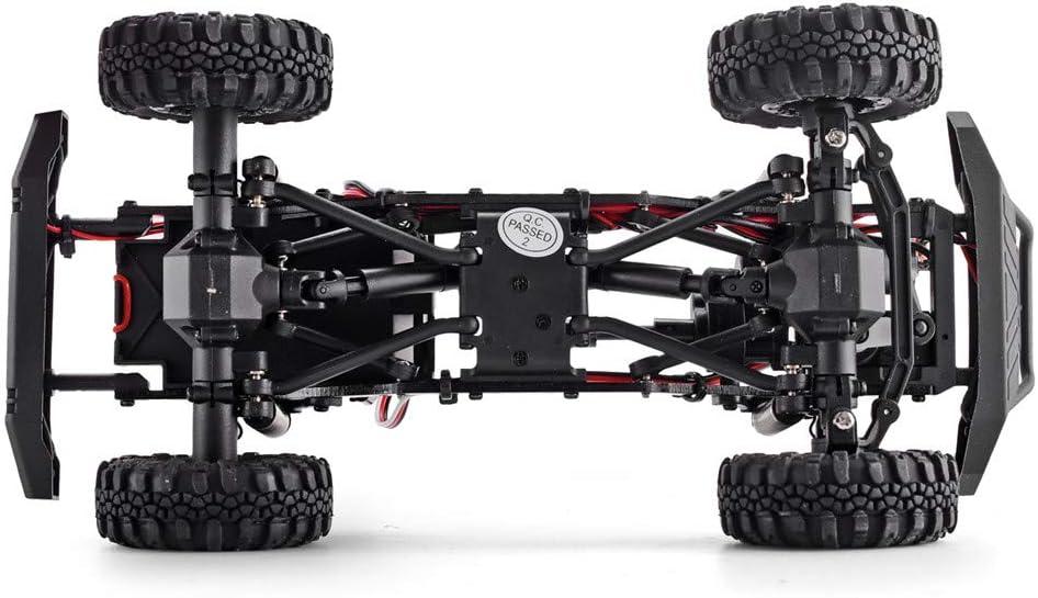 RGT RC Crawler 1:24 Scale 4wd Off Road Rock Crawler 4x4 Truck Mini RC Car Gray