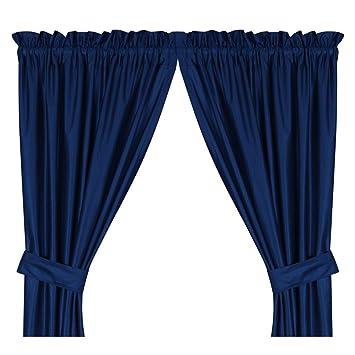 Amazon.com : Dallas Cowboys NFL Drape : Window Treatment Curtains ...