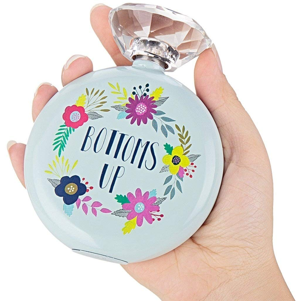 春夏新作 Flask For For Women Hip Flask & Hip Funnel Set With & Glass Crystal Cover Decorative women's flasks 150ml B07CKX54HH, happyshop:3e68a973 --- a0267596.xsph.ru