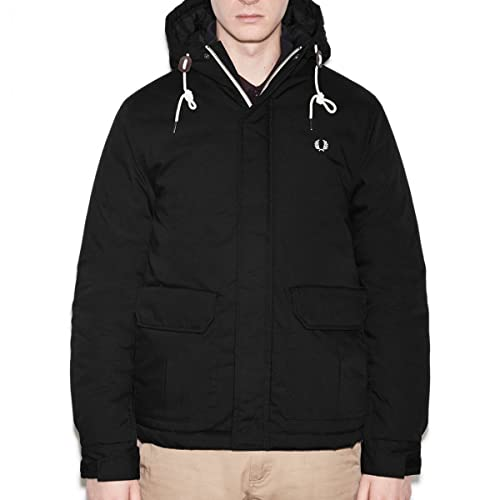 Fred Perry Ai 16 Chaleco j9511 Quilted Stockport Col Black ...