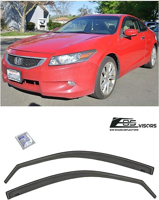Window Visors Rain Sun Guard For Honda Accord 2008-2012 08 09 10 12LX LX-P Sedan
