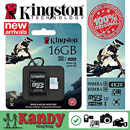 tarjeta SD KTC Computer Technology Kingston Micro para GoPro ...