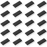 2V-6V Operating Voltage 14-Lead DIP Package NTE Electronics NTE74HC14 Integrated Circuit TTL-High Speed CMOS Hex Schmitt Trigger Inverter