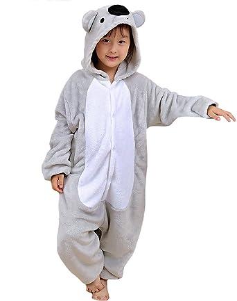 Image of: Jumpsuit Unisex Children Koala Onesie Pajamas Christmas Party Costume Lazy Warm Animal Onesies For Kids Amazoncouk Clothing Daily Mail Unisex Children Koala Onesie Pajamas Christmas Party Costume Lazy