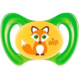 Nip Beruhigungssauger Miss Denti Silikon Größe 3 Fuchs grün, 1 St