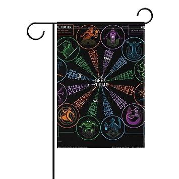Amazon Imobaby Astrology Love Chart Geek Zodiac Decorative