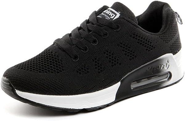 Zapatillas de Deportivos de Running para Mujer Gimnasia Ligero Sneakers Negro Azul Gris Blanco Verde 35-44: Amazon.es: Zapatos y complementos