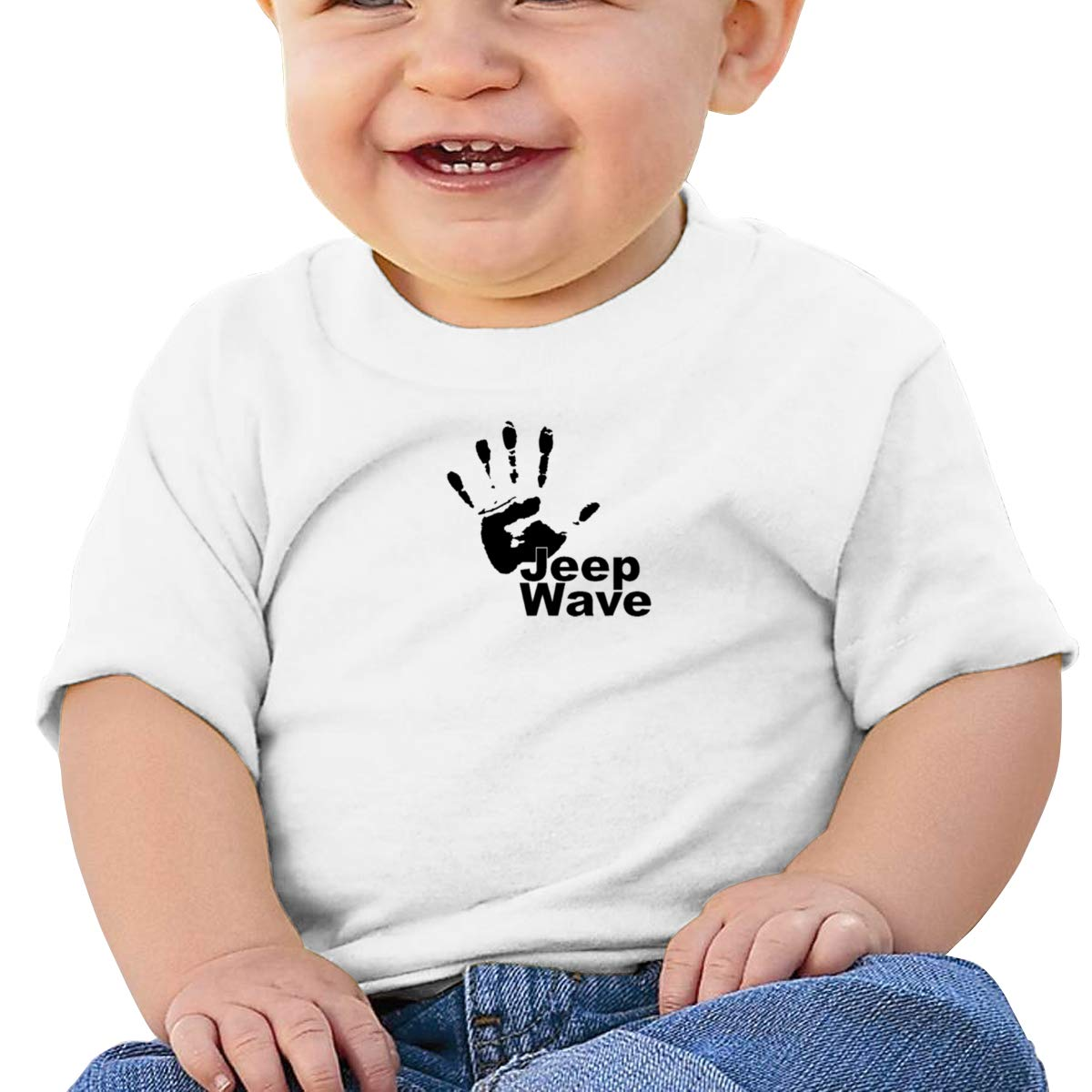 Handprint Jeep Wave Short Sleeve T-Shirt Baby Boys
