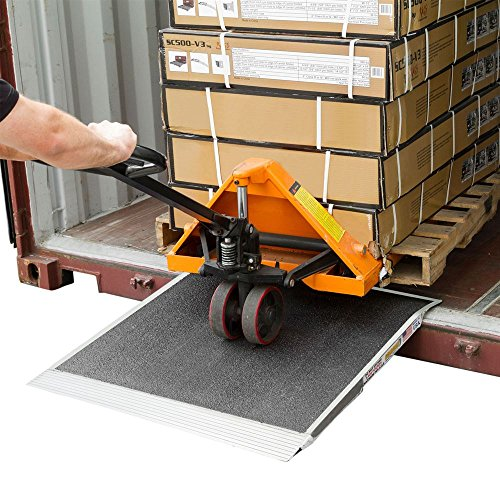 """Tracked Pallet Jack: Discount Ramps Pallet Jack Shipping Container Ramp 36"""" X"""