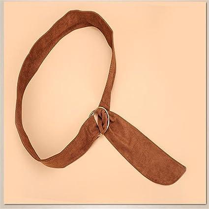 NSSBZZ Regalos De Cumpleaños Fiestas De Moda Cinturón con Hebilla Doble Anillo Embellecedor Falda Correa Cintura
