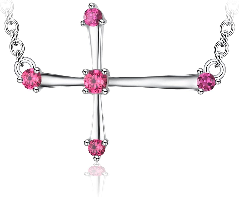 JewelryPalace Colgante femenino con Esmeralda cuadrado y Circonita Collar Plata de ley 925 cadena de caja 45cm
