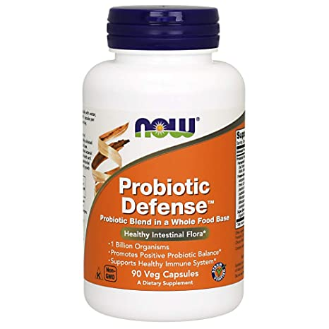 Now Foods, Probiótico Defensa - x90Vcaps