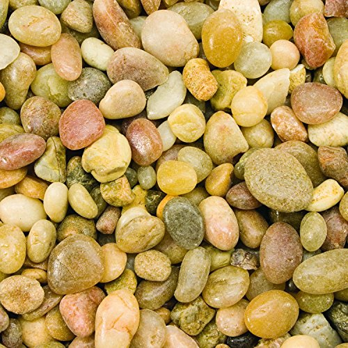 Spectrastone Shallow Creek Pebble for Freshwater Aquariums, 25-Pound Bag (Creek Pebbles)