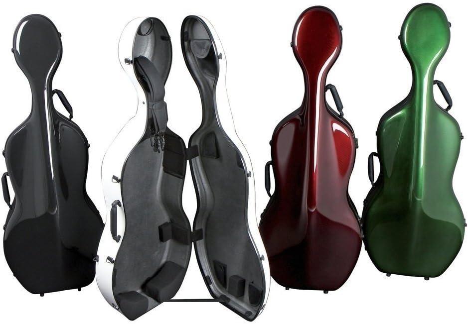 GEWA – Estuche para Violonchelo 4/4 Cs 05 verde: Amazon.es: Instrumentos musicales