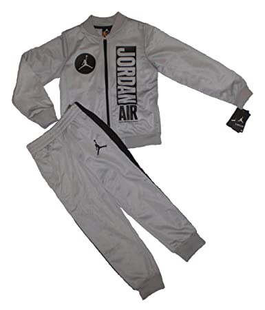 73962fede40 Image Unavailable. Image not available for. Color: Nike Jordan Jumpman Boy  Jacket Tracksuit Pants Outfit ...